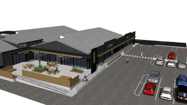 'The Redwoodtown Centre' will have up to six spaces for new tenants.