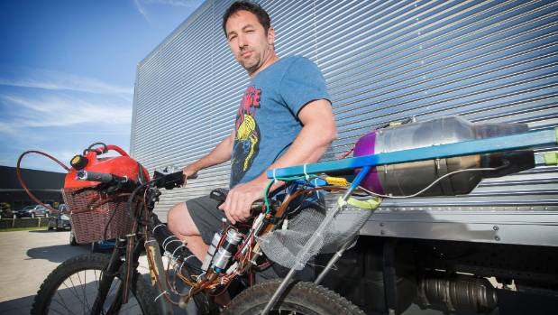 Floorcoat New Zealand owner Paul Jury craves extreme sports with a bit of speed and would like to attach the jet engine ...