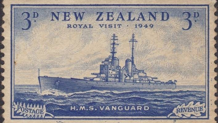 Rare stamp breaks New Zealand record at auction | Stuff co nz