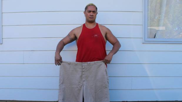 Stuart Rarere of Glen Innes lost 90kg on the programme and now enjoys going to the gym.