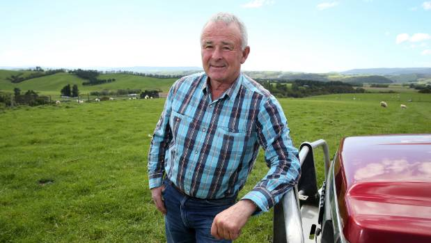 Environment Southland chairman Nicol Horrell on his Tuatapere farm.