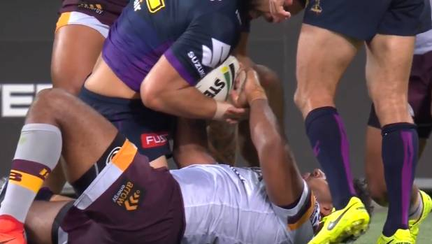 Sam Thaiday may have crossed the line with an attack on Kiwis skipper Jesse Bromwich.