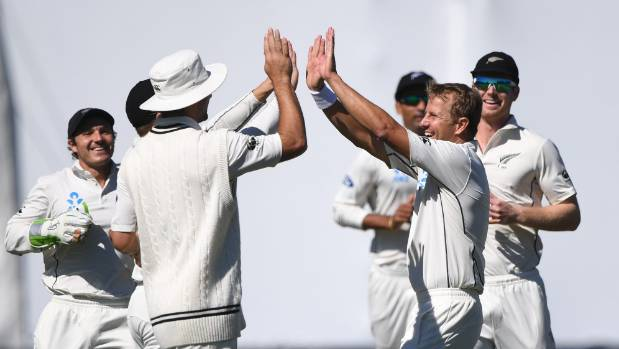 Neil Wagner struck with his seventh delivery on day two as New Zealand took control.