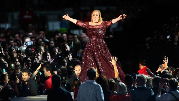 Adele will play three Auckland shows kicking off from Thursday.
