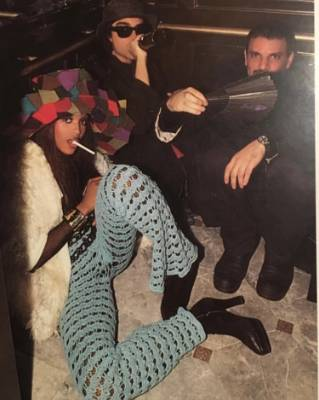 NAOMI CAMPBELL: Here's another model getting nostalgic. Look at that hat, those pants, that jacket. I'd be honoured if ...
