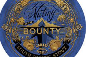 Mutiny on The Bounty, by Garage Project, is a new world take on a foreign extra stout.