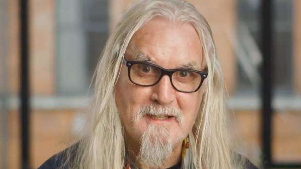 It's Sir Billy Connolly for you guys.