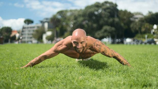 Mcnaught keeps in shape between big-screen gigs practicing and teaching calisthenics, a form of weight training using ...