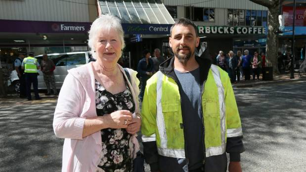 Patsy Craig and Ru Dawson have been among those leading protests against Stanton's continuing presence in Trafalgar St.