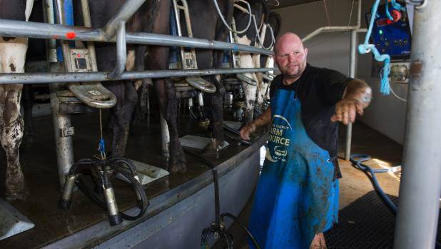 Dairy farmer Isaac Cook set the first world mark by milking 5065 cows over a 12 hour period.