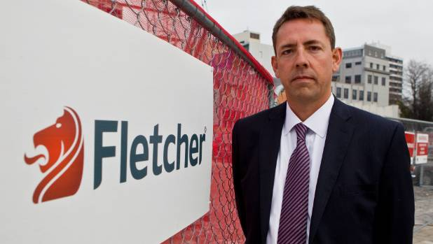 Fletcher Building issues a profit warning, its shares are slumping