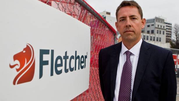 Fletcher Building chief executive Mark Adamson says the company is not taking the losses lightly.