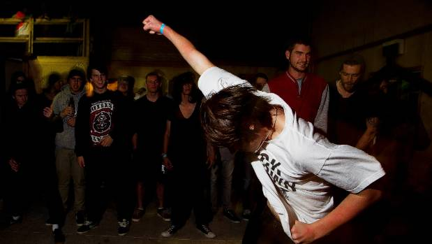 Don't be this guy, keep your big dance moves to a minimum.