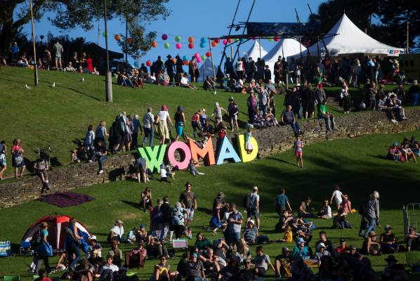 Womad runs for three days, finishing on Sunday evening.