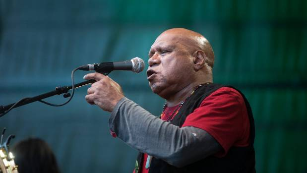 Archie Roach opens Womad on the Bowl stage.