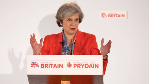 UK Prime Minister Theresa May has onceded Britain will have to quit the single market for goods and services - ...