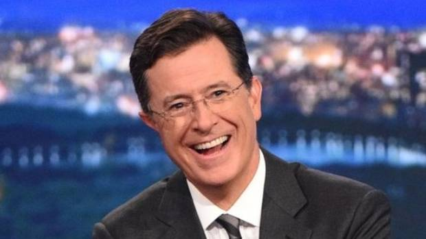 Anthony Scaramucci defended Trump's compassion to Stephen Colbert. Colbert called bullshit