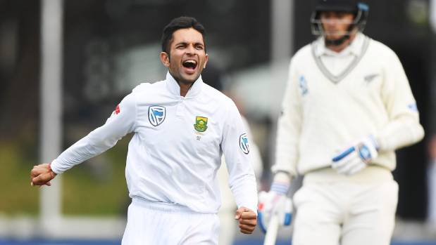Rain ends first day's play in third NZ-South Africa test