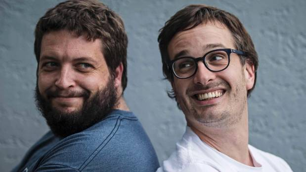 David Farrier, right, and Dylan Reeve, co-directors of the 2016 documentary Tickled. Farrier announced the death of ...