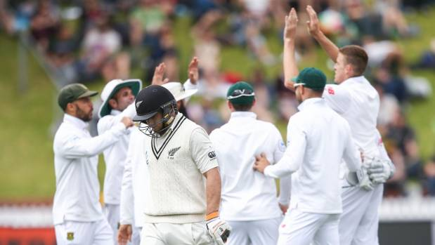 New Zealand opener Tom Latham's run of international scores of 10 or under extended to seven with his dual dismissals to ...
