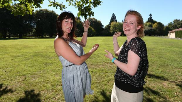 Marlborough 4 Fun chief executive Katrina Lange, left, and council regional events adviser Samantha Young are looking ...