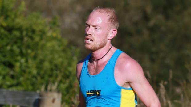 John Mering won the Huntly Half in a time of one hour and 14 minutes.