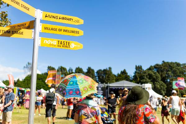 So many places to see around Womad.
