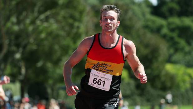 Joseph Millar broke the national 200m record in Hamilton on Sunday.