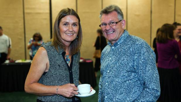 Male anti-violence advocate Ken Clearwater works alongside Louise Nicholas to help end sexual violence.
