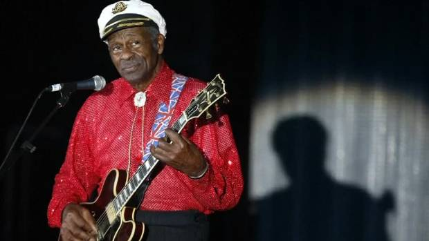 Chuck Berry once ran away from an Auckland gig, a promoter says.