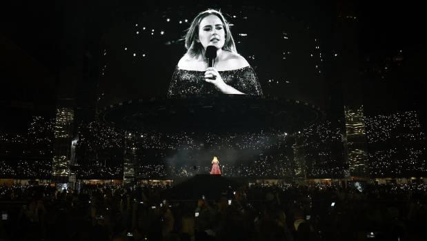 Adele broke the Etihad Stadium crowd record two nights running.