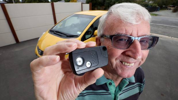 Dave Doy is pleased he has been offered a full refund by Honda NZ for his $1400 spare key.