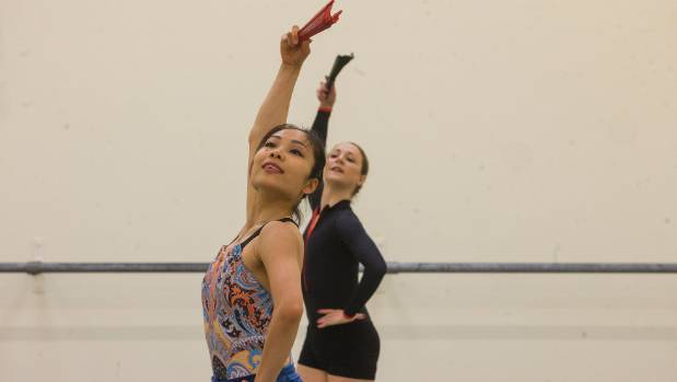Mayu Tanigaito and Tonia Lookers both rehearsing the role of Carmen.