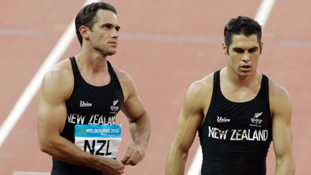 Chris Donaldson (left) says Joseph Millar is a 'step up' from past Kiwi sprinters, a group that includes James Dolphin ...