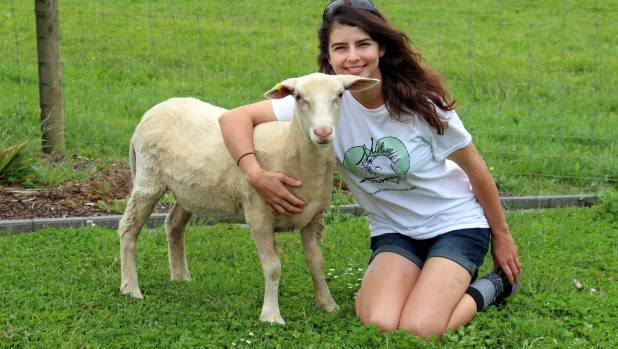 Lisa Kendall hopes to one day develop her own sheep milk brand.