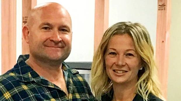 Owners Anna and Heath Finlay are eager to get Habitual Fix opened in Palmerston North.