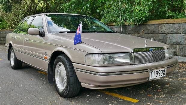 The 1994 Ford Fairlane DC LTD that was Government limousine for then Prime Minister Jim Bolger.
