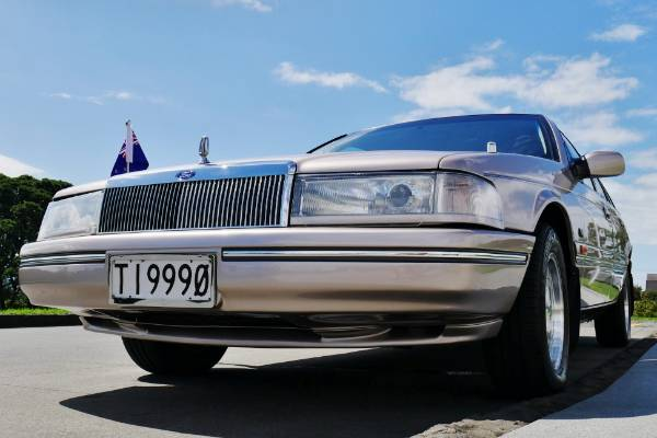 The 1994 Ford DC LTD that was Government limousine for then Prime Minister Jim Bolger.