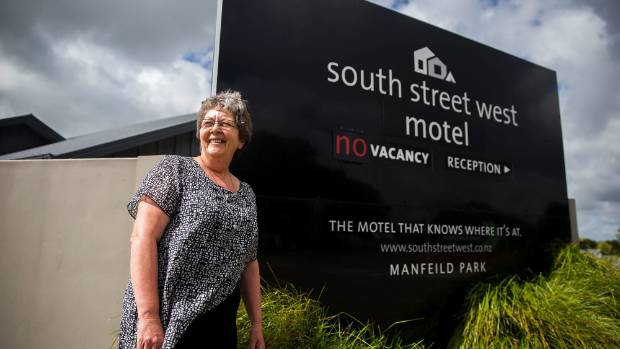 Owner of South Street West Motel Pauline Sarjeant is one of many accommodation providers in Feilding who benefits from ...