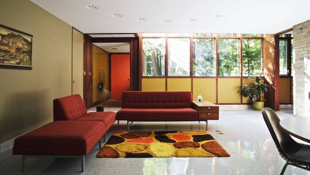 New owner Jack White also gets the Herman Miller furnishings that are in keeping with the era of the house.