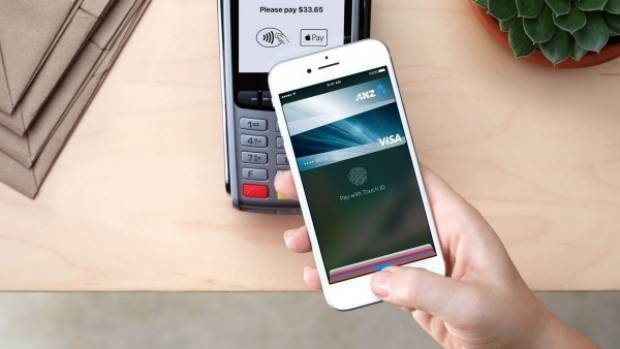 Apple Pay lets you store your credit card information on your iPhone and then pay via wireless terminals.