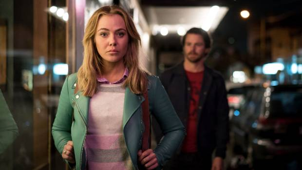 Jessica Marais as Lily Woodward in The Wrong Girl.