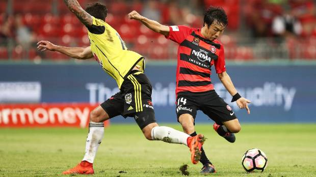 The Phoenix have been going the wrong way for most of the A-League season, on Sunday it was Jumpei Kusukami of the ...