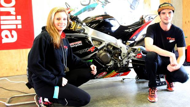 Tirau superbike rider Dillon Telford and his partner and mechanic Jo Taylor are set to compete in the Italian CIV ...