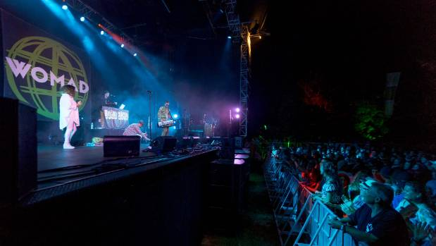 Lord Echo finished off Womad on the Brooklands Stage on Sunday evening.