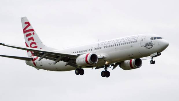 The Virgin flight was over Banks Peninsula when passengers were told it would have to turn back. (FILE PHOTO)