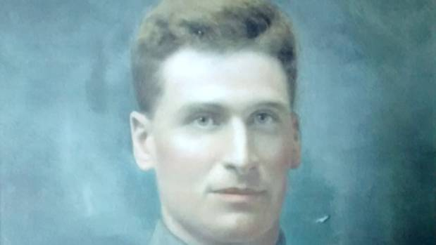 Southland soldier John Stevens died in Belgium during World War I.