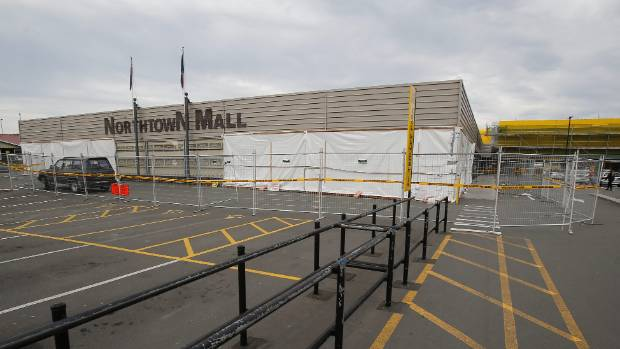 The front of Northtown Mall is getting a spruce-up as part of upgrade and extension work at Pak 'n Save Timaru.