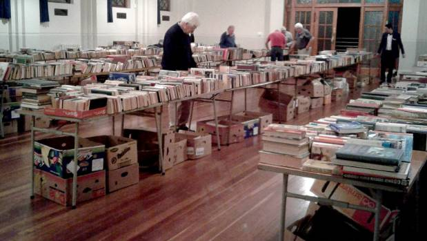 Freemasons Lodge St John book sale in October, 2016