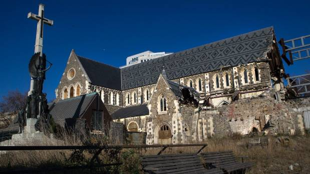 Christ church cathedral 39 holding up city 39 s regeneration for Grow landscapes christchurch